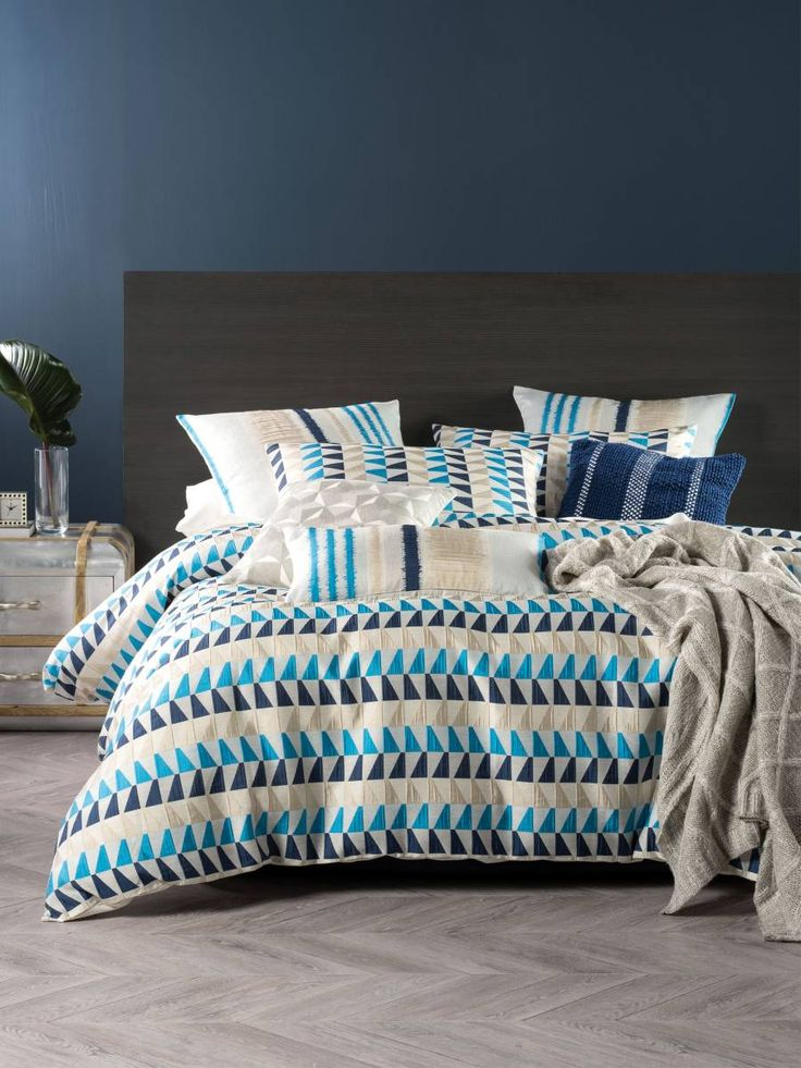 QUILT COVERS ONLINE RYDER QUEEN QUILT COVER SETS BLUE