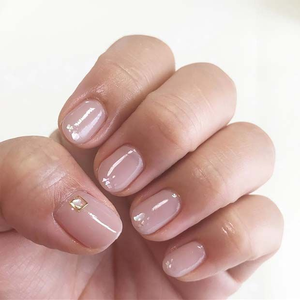 21 Elegant Nail Designs For Short Nails Stayglam Elegant Nails Short Nail Designs Pink Manicure