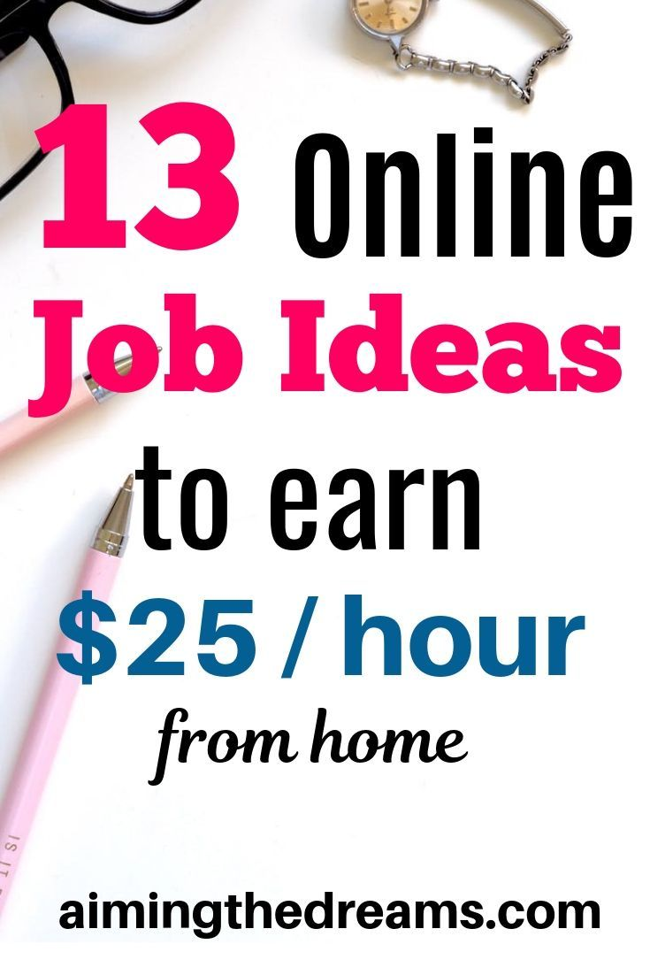 13 Genuine Online Jobs That Pay 20 An Hour Or More Online Jobs