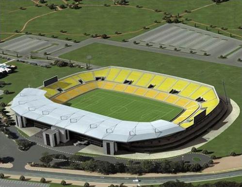 Peter Mokaba Stadium in Polokwane,South Africa,2010