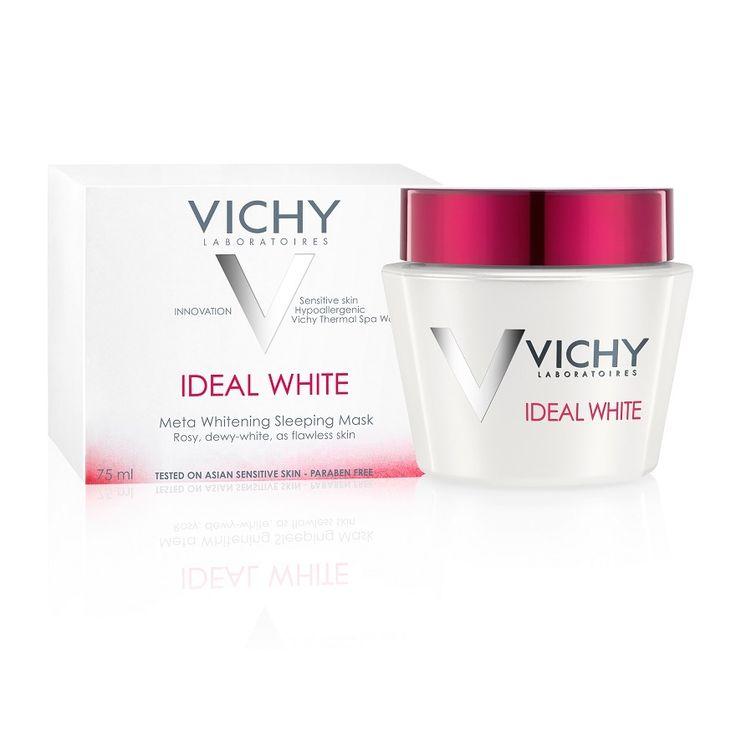 Mặt nạ ngủ Vichy Ideal White Sleeping Mask dưỡng trắng da ban đêm có thành phần và công dụng như thế nào? Loại da nào thích hợp với sản phẩm?