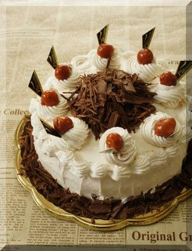 * ドイツのケーキ ❤ 黒い森のケーキ♪