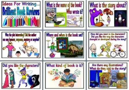 features of book review ks2