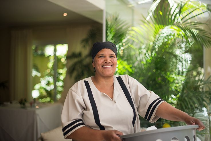 Beatie - a wonderful housekeeper at The Last Word Constantia.