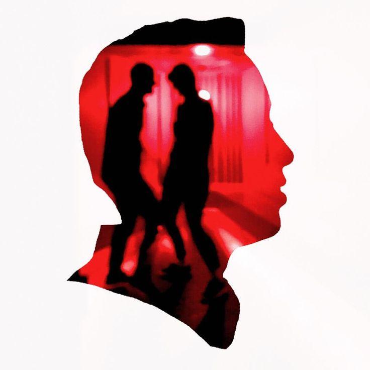 Dubble by Ulf Rehnholm & olivertwisty Made by @dubbleapp #dubbleapp #dubble #silhouette #portrait #red
