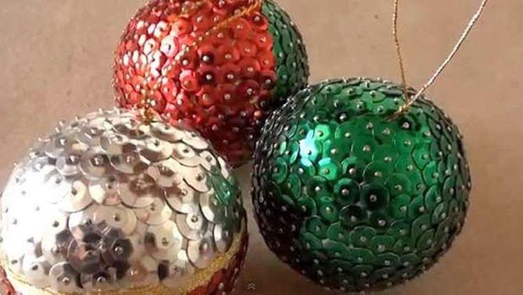 ¿Cómo decorar las bolas de Navidad de poliespan? - https://navidad.es/como-decorar-las-bolas-de-navidad-de-poliespan/