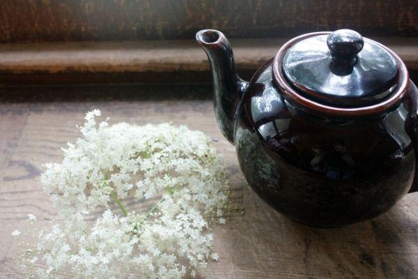 Elderflower tea. 5orangepotatoes