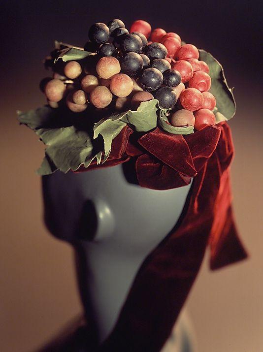 Cocktail hat Schiaparelli 1939