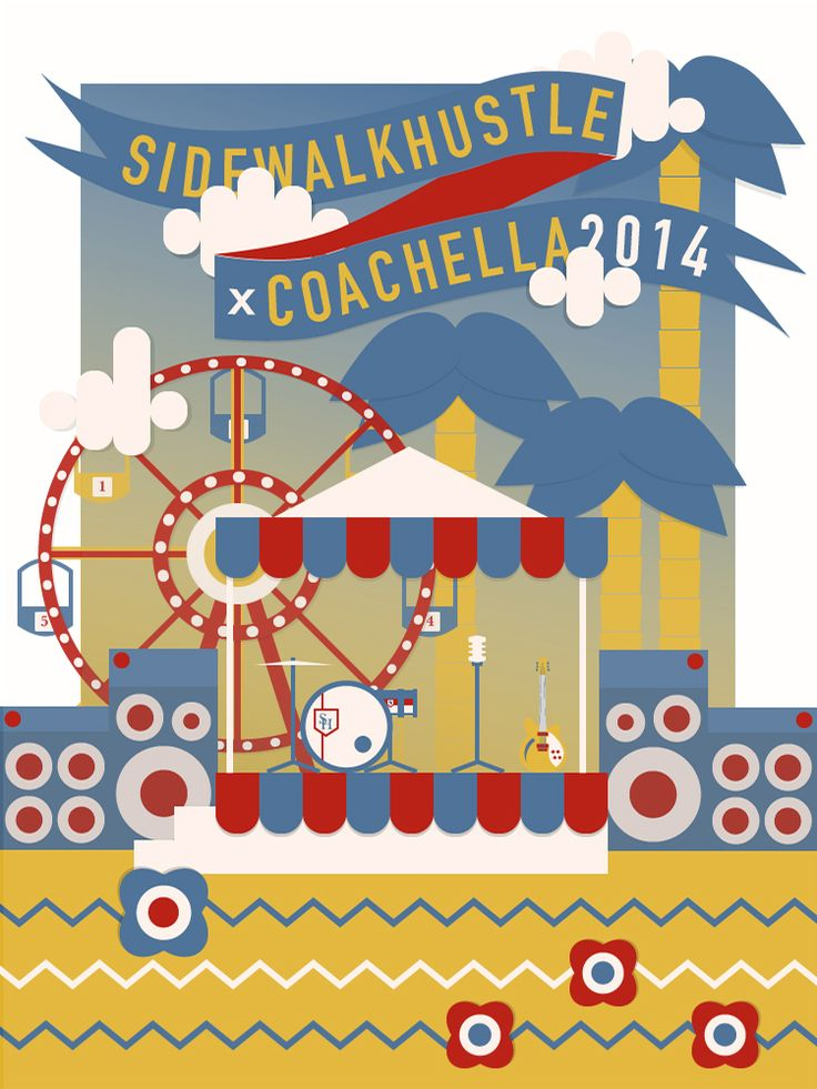 Sidewalk Hustle x JBL Coachella 2014 Mixtape