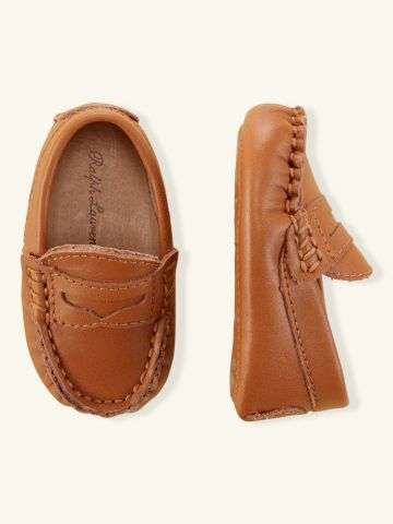 Dartmouth - Layette Shoes - RalphLauren.com | He can match daddy :) too cute