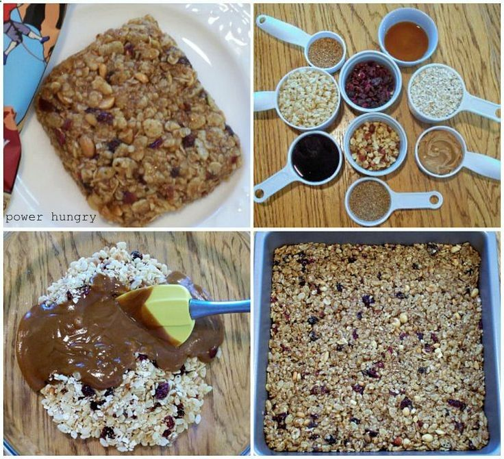 Homemade Cliff Bars (no bake!)