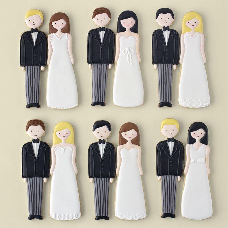 Postreadicción: Galletas decoradas, cupcakes y cakepops: Galletas decoradas boda