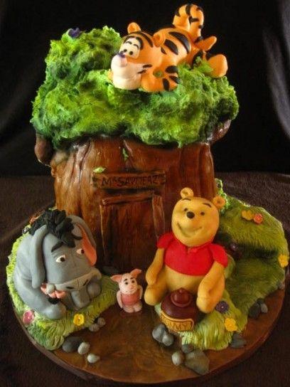 Torta Winnie the Pooh 23