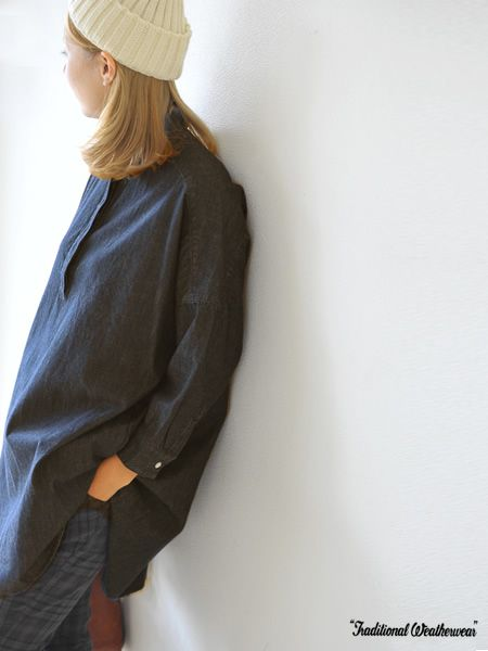 【楽天市場】Traditional Weatherwearトラディショナル ウェザーウェアデニム ワイドシャツワンピース・7006a(XS・S)【2013秋冬】:Crouka(クローカ)