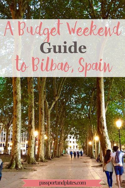 For a quirky and budget-friendly weekend in Spain, look no further than Bilbao! Check out the weekend guide to Bilbao! | http://passportandplates.com  ✈✈✈ Here is your chance to win a Free Roundtrip Ticket to Santander, Spain from anywhere in the world **GIVEAWAY** ✈✈✈ https://thedecisionmoment.com/free-roundtrip-tickets-to-europe-spain-santander/