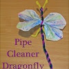 pipe cleaner dragon fly