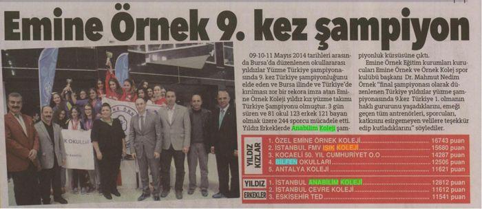 Hürriyet Bursa - 18.05.2014