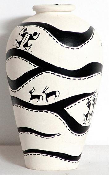 Warli Pot - Art from India