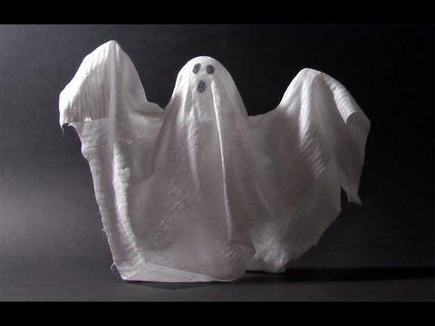 Manualidades para Halloween - Fantasma - Halloween ghost - muy facil !