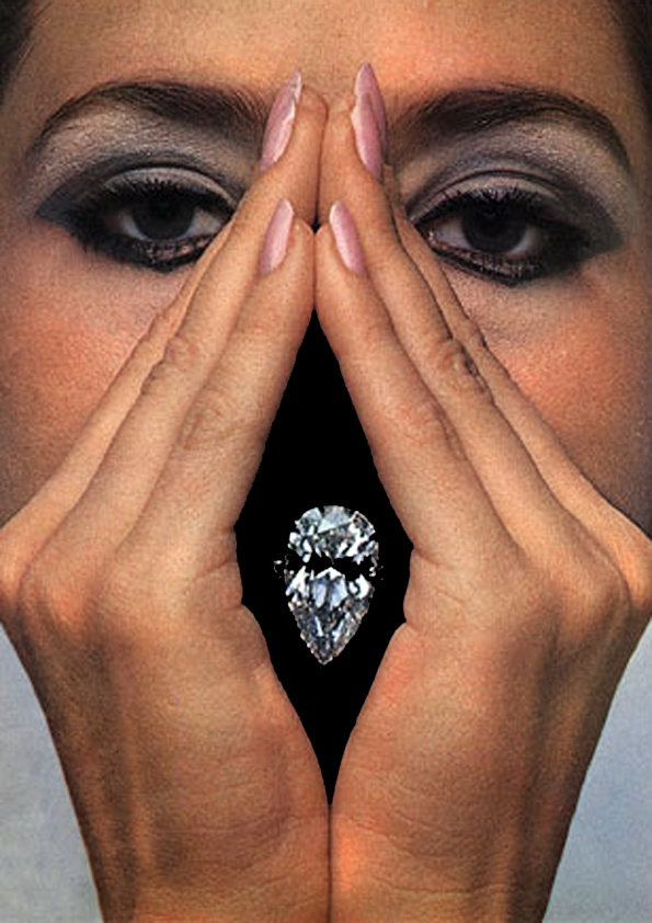 Mouths, Part 3: Guy Bourdin for Harry Winston, 1967