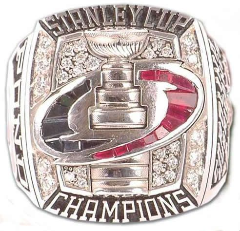 Carolina Hurricanes - 2006 Stanley Cup Ring
