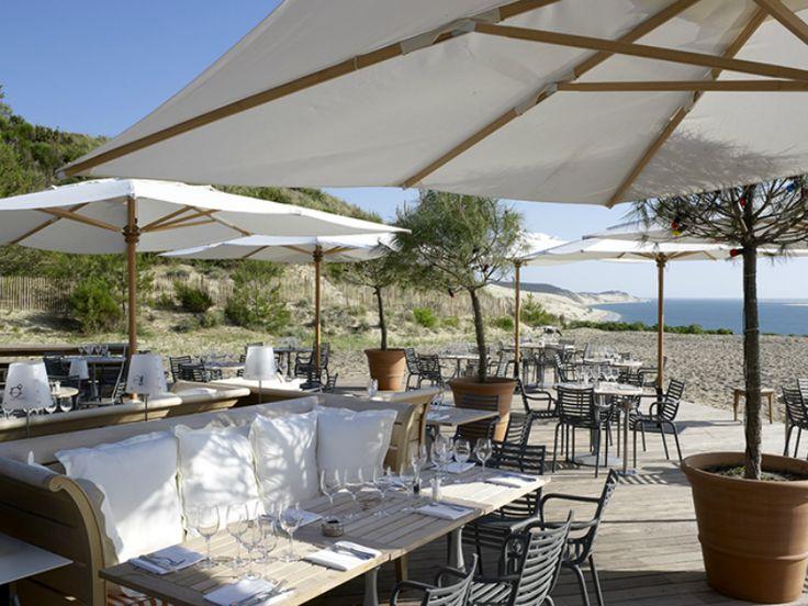 Les 11 meilleures images du tableau la terrasse sur pinterest la terrasse pyla sur mer et - Restaurant dune du pyla ...