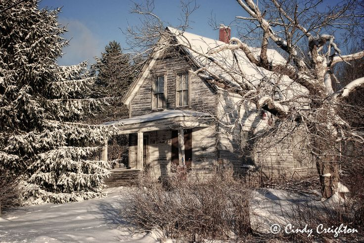 Abandoned House - Springhill Junction, Nova Scotia.