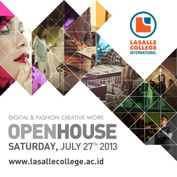 Free Workshop on Open House of LaSalle Jakarta by GoGirl Magazine.