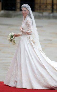 robes de mariée de Kate Middleton