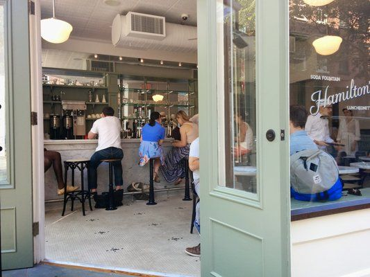 Really cute an old American Parlor just around the corner! I must try very soon!