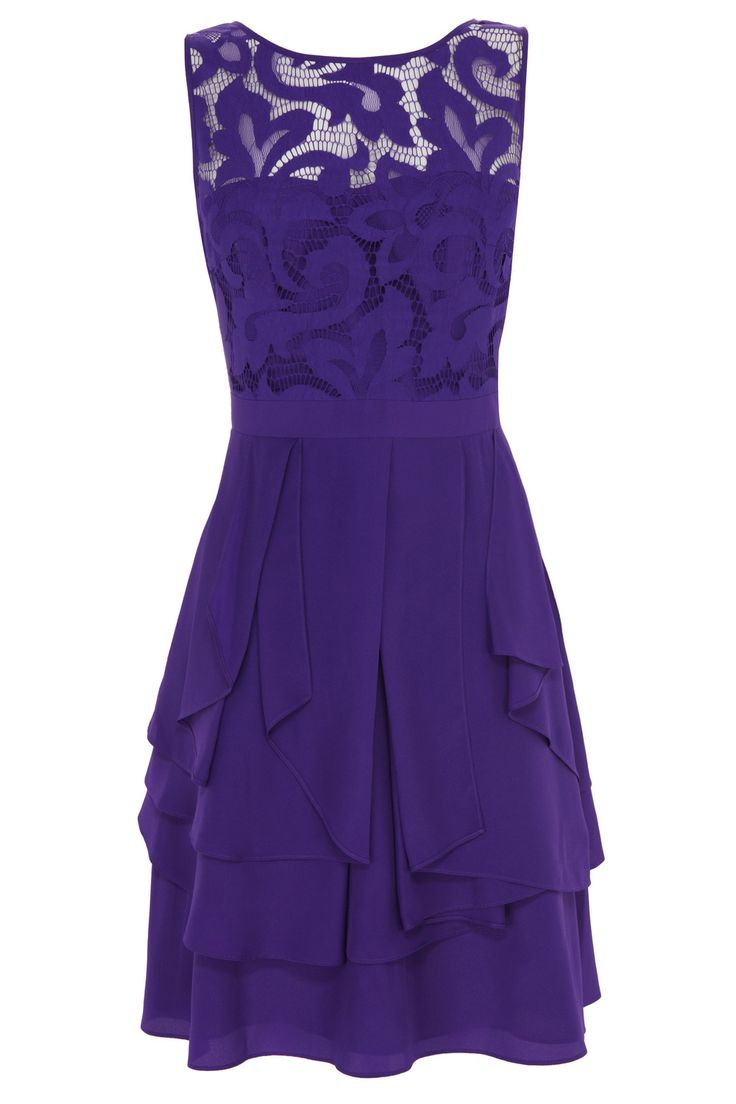 Purples Lilacs DAYMEE DRESS | Coast