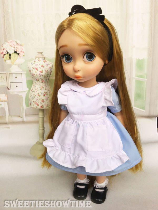 Disney baby doll одежда алиса платье одежда аниматор коллекции Принцесса #2