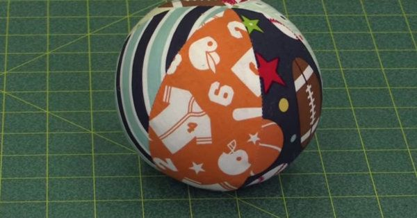 This Pentagon Ball Is Such A Fun Project, And Not As Tough As You'd Think!