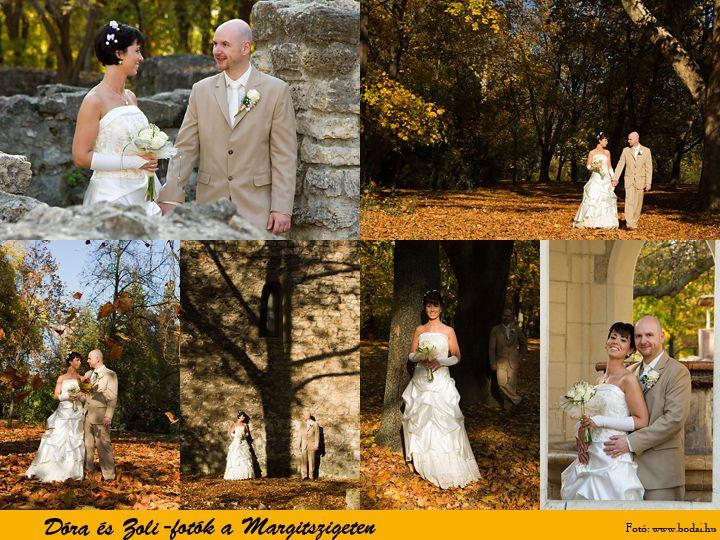 Esküvői fotók a Margitszigeten www.bodai.hu
