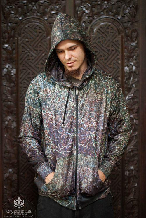 SPRITES Psychedelic  Men's Hoodie / by CrystalotusCreations