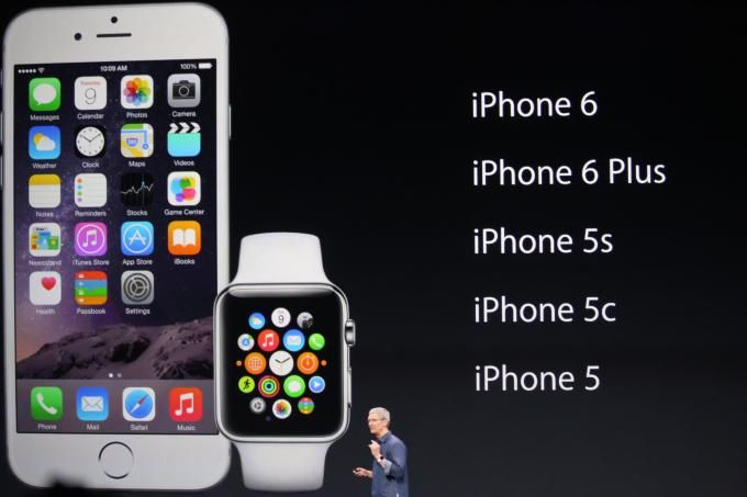 The #AppleWatch will be compatible with all these generations of #iPhone