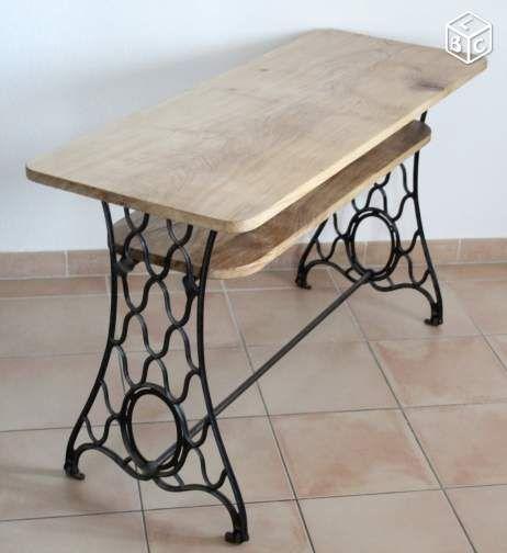 17 meilleures id es propos de machines coudre - Table machine a coudre singer ...