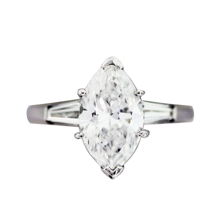 17 Best images about Marquise Diamond Engagement Rings on Pinterest