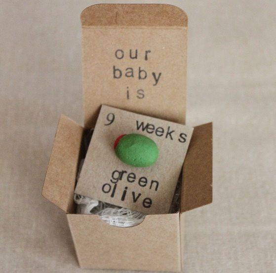 9 week Pregnancy Announcements How Big Is My Baby by ThePartyPosse