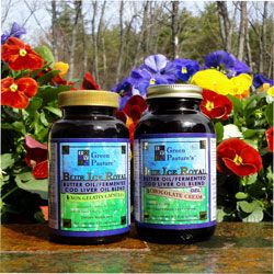 Re-mineralize teeth, and for overall health. Blue Ice Royal Butter Oil/ Fermented Cod Liver Oil Blend