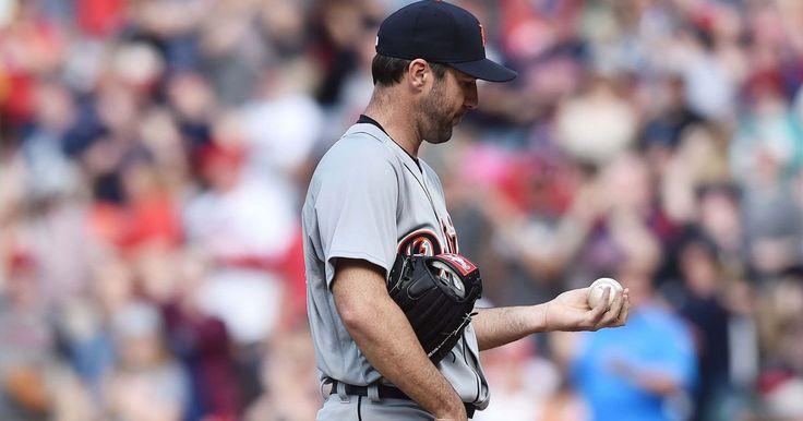 Verlander rocked in Cleveland, Indians beat Tigers 13-6 #Sport #iNewsPhoto