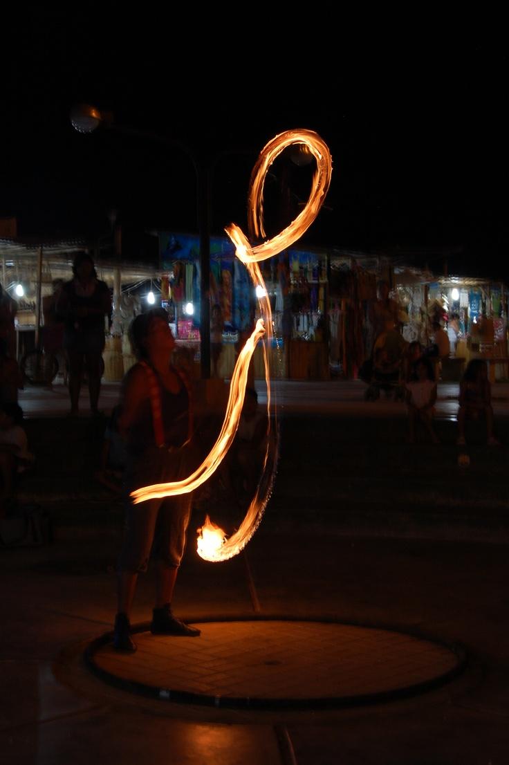 Fuego en Mancora
