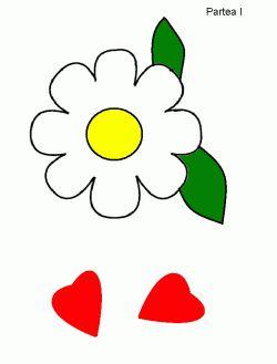 floare de decupat pentru cadou-color