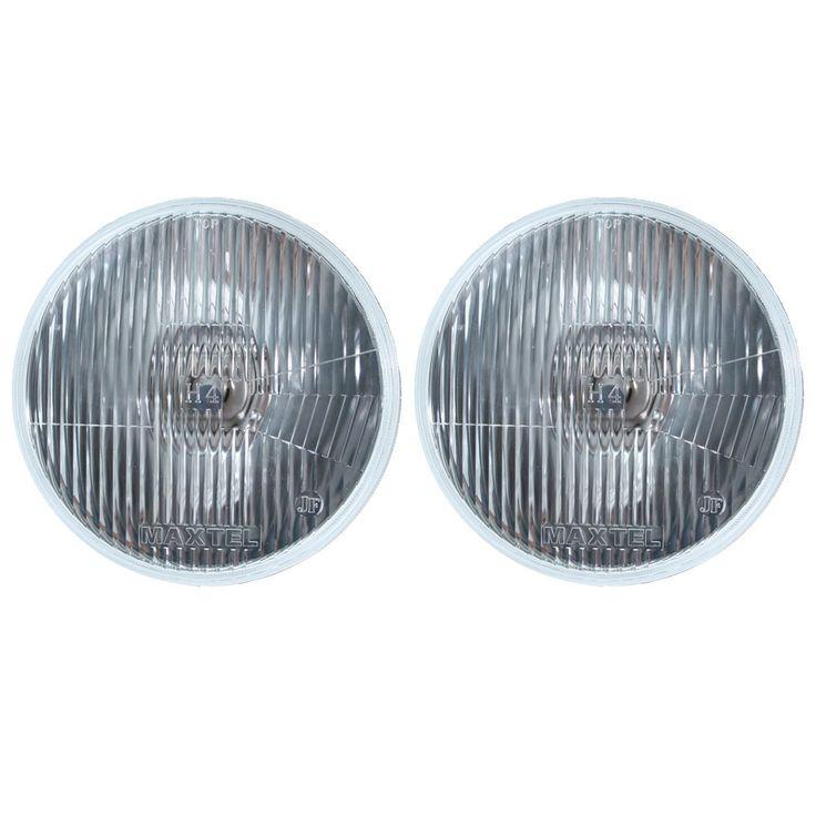 Halogen Headlight H4 Pair 1965-1973
