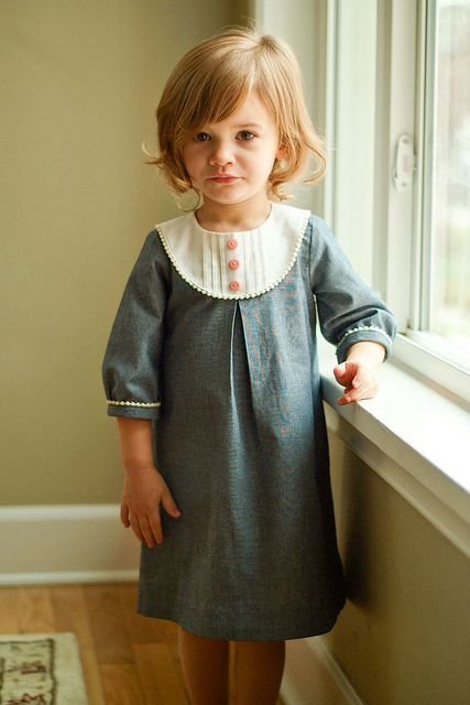 Oliver + S Chambray Playdate Dress
