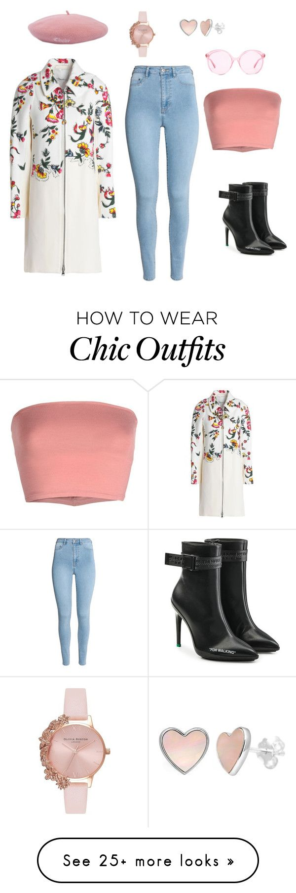 """""""Looking Chic!"""" by daleneekirapa on Polyvore featuring Off-White, Annarita N., 3.1 Phillip Lim, Gucci and Olivia Burton"""
