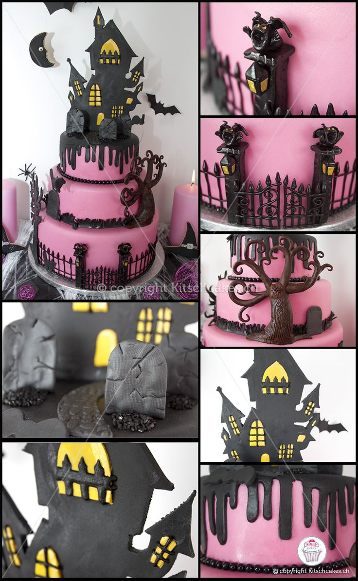 Best 20+ Haunted house cake ideas on Pinterest | Halloween cakes ...
