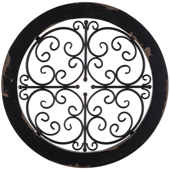 Round Black Wall Decor : Best images about home on fall fireplace