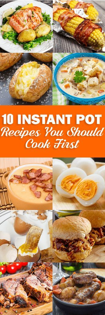 Instant Pot | Top 10 Instant Pot Recipes You Should Cook First from RecipeThis.com