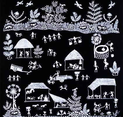 Ancient Indian Folk Art Tradition of Warli4